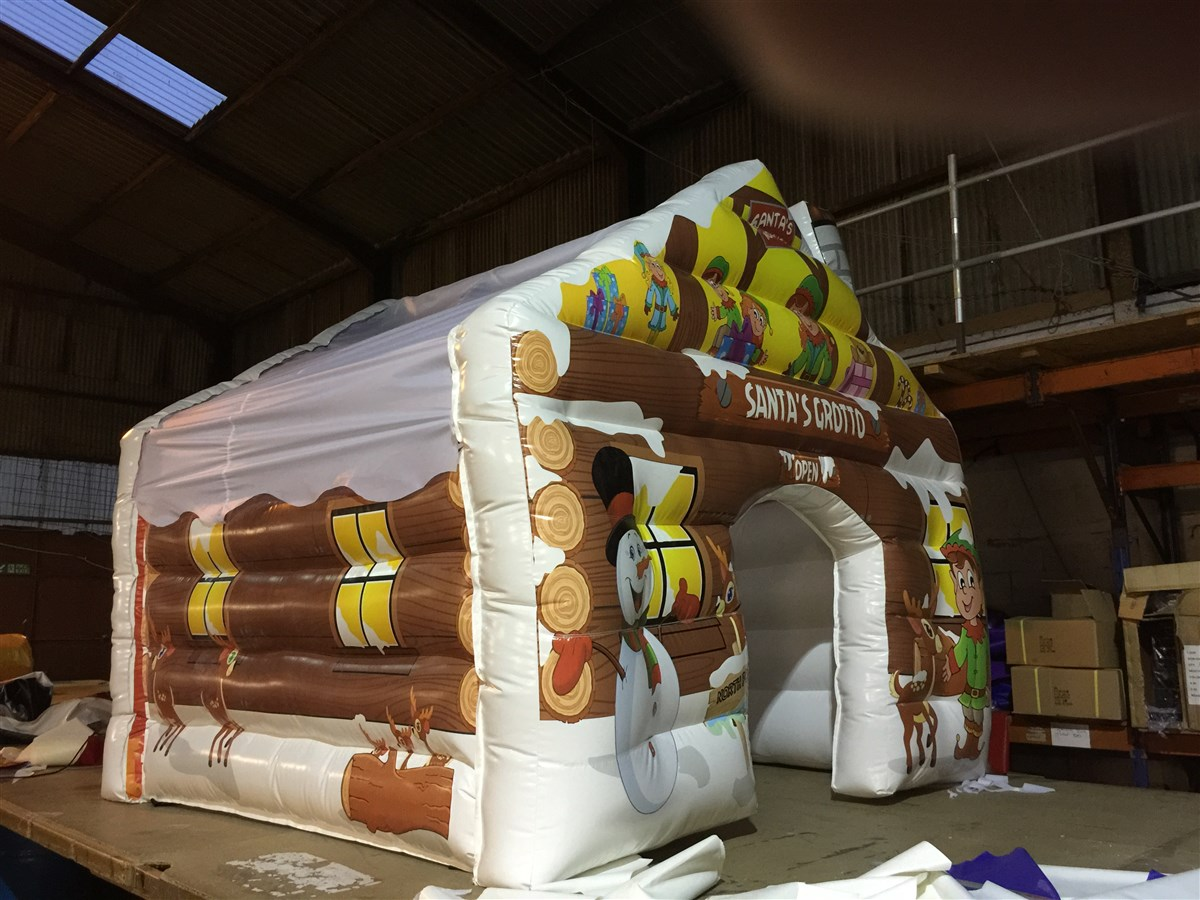 Ft inflatable santa grotto special projects