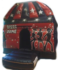 10ft x 12ft Disco Dome Bouncy Castle