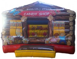 10ft x 12ft Inflatable Candy Shop Bouncy Castle