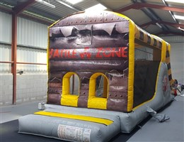 10ft x 29ft Battle Zone Obstacle Course
