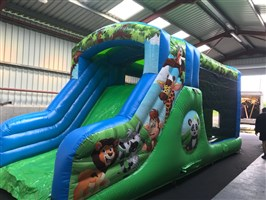 10ft x 29ft Jungle Obstacle Course