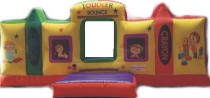 12ft x 15ft x 5ft Toddler Bounce