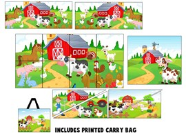 15 Piece Farm Yard Softplay