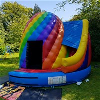 !! 17ft x 15ft Twister Dome Slide Combo