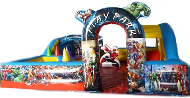 *ON OFFER* 18ft x 18ft Little Heroes Toddler Play Park