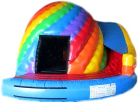 !! 18ft x 20ft Twister Dome Slide Combo