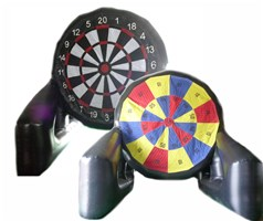 17ft x 20ft x 17ft Double Sided Giant Darts Board Inflatable