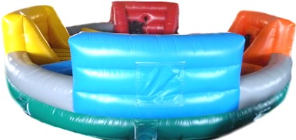 26ft Inflatable Hungry Hippo Game
