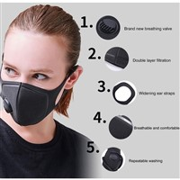 3 x Breathable Mask Washable Face Mouth Masks