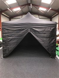 3m x 3m Easy Pop-Up Gazebo Black