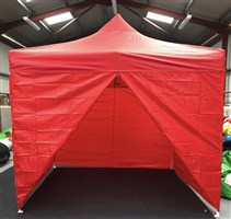 3m x 3m Easy Pop-Up Gazebo Red