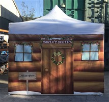 3m x 3m Easy Pop-Up Gazebo Christmas Grotto