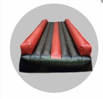5m Air Tumble Track Red & Black
