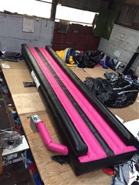 12m Air Tumble Track Pink & Black