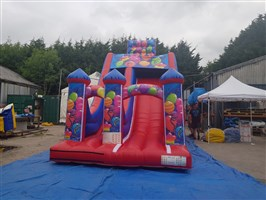 !! Balloons Mega Slide with Velcro Front Posts