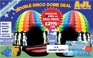 !! Double Disco Dome Deal !!