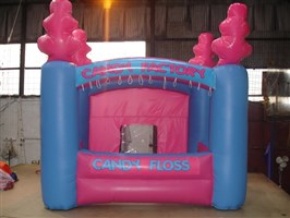 Inflatable Candy Floss Stall 10ft x 10ft