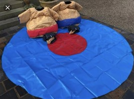 Kids Sumo Suits & Flat Circle Mat