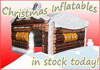 Christmas Inflatables in stock today!