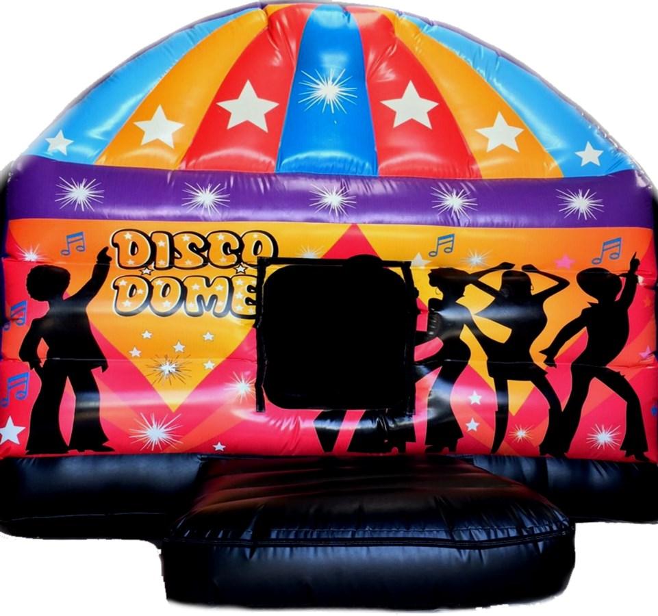 12ft x 17ft disco dome bouncy castle