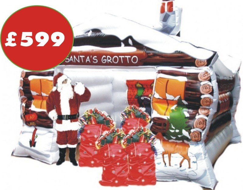 Ft inflatable santa s grotto special projects