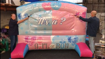 10ft Gender Reveal Inflatable