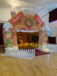 10ft x 10ft Christmas Santa's Grotto Inflatable Tent