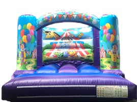 10ft x 10ft Circus Curved Bar H-Frame