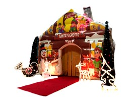 10ft x 10ft Inflatable Santa Grotto