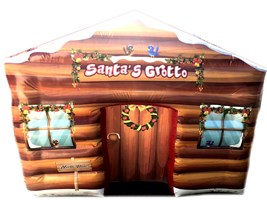 10ft x 12ft 2018 Deluxe Christmas Santa's Grotto Inflatable