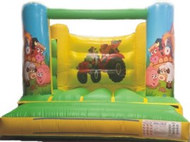 10ft x 12ft Animals H-Frame Bouncy Castle