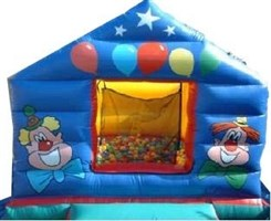 10ft x 12ft Circus Ball Pond Bouncy Castle