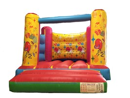10ft x 12ft Party Themed H-Frame Bouncy Castle