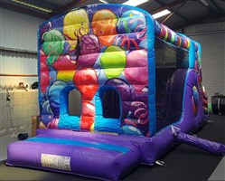 10ft x 29ft Party Balloons Obstacle Course