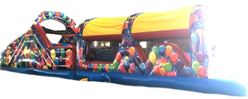 10ft x 46ft Party Obstacle Course