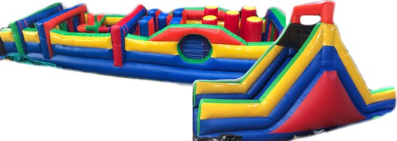 11ft x 50ft Activity Obstacle Course