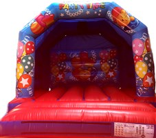 12ft x 12ft 2016 Party Balloons Bouncy Castle