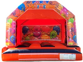 12ft x 12ft A-Frame LOW HEIGHT 9ft Interchangeable Bouncy Castle
