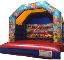 12ft x 12ft Circus A-Frame Bouncy Castle