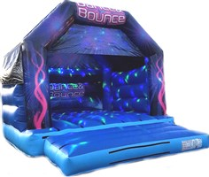 12ft x 12ft Dance & Bounce A-Frame with Visor & Pocket