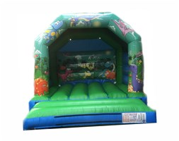 12ft x 12ft Dinosaurs Bouncy Castle