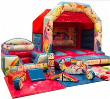 12ft x 12ft Indoor Softplay Package ANY THEME