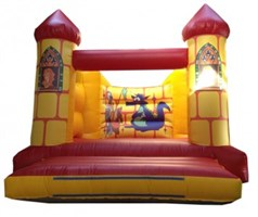 12ft x 15ft Camelot H-Frame Bouncy Castle