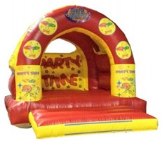 12ft x 15ft Arched Let's Party Bouncy Castle