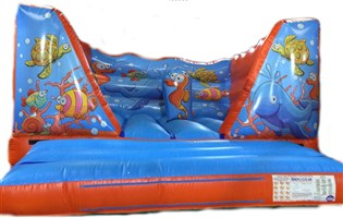 12ft x 15ft Under The Sea V-Front Bouncy Castle