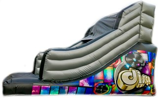 12ft x 15ft x 12ft Disco Slide w/Pocket