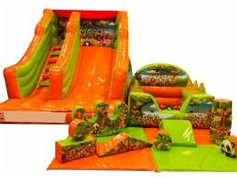 12ft x 15ft x 12ft Slide Indoor Softplay Package ANY THEME