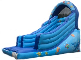 12ft x 15ft x 12ft Under The Sea Slide