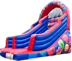 12ft x 15ft x 15ft Party Balloons Garden Slide