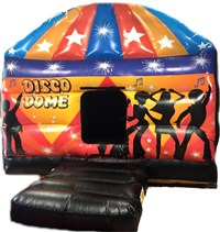 12ft x 17ft Disco Dome Bouncy Castle